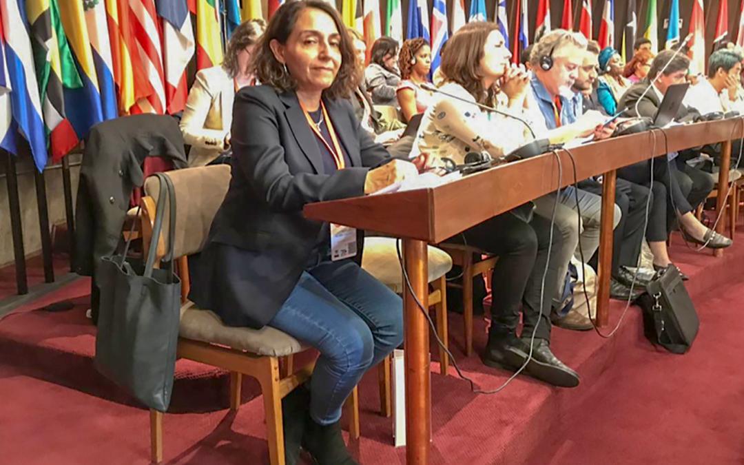 Directora del PEPJA participó en foro sobre desarrollo sostenible en América Latina