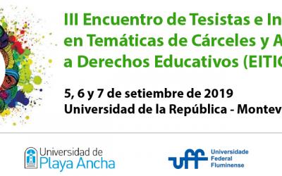 III Encuentro EITICE en Montevideo, Uruguay: Segunda circular