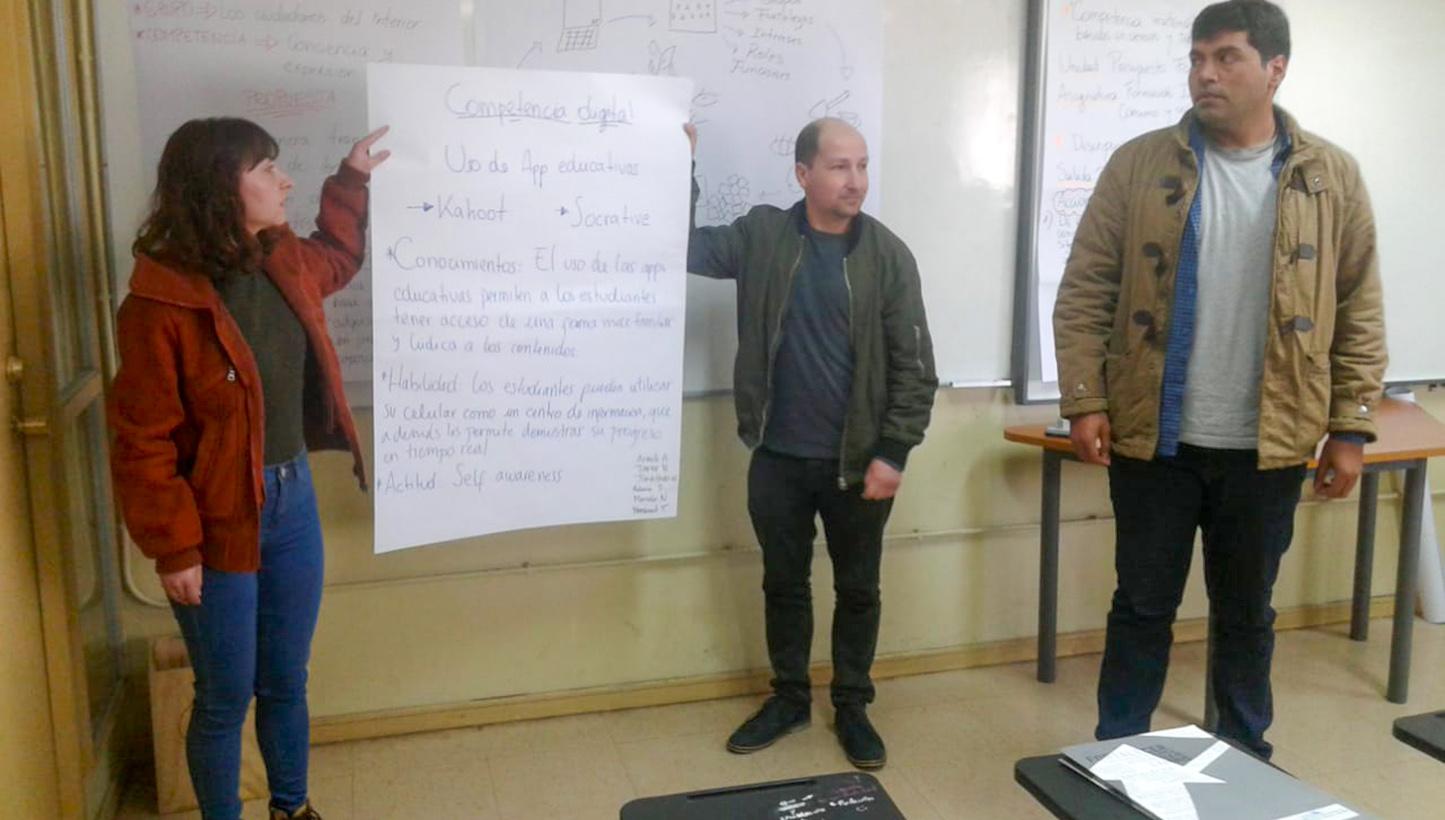 Metodología para el aprendizaje EPJA - Valparaíso 2