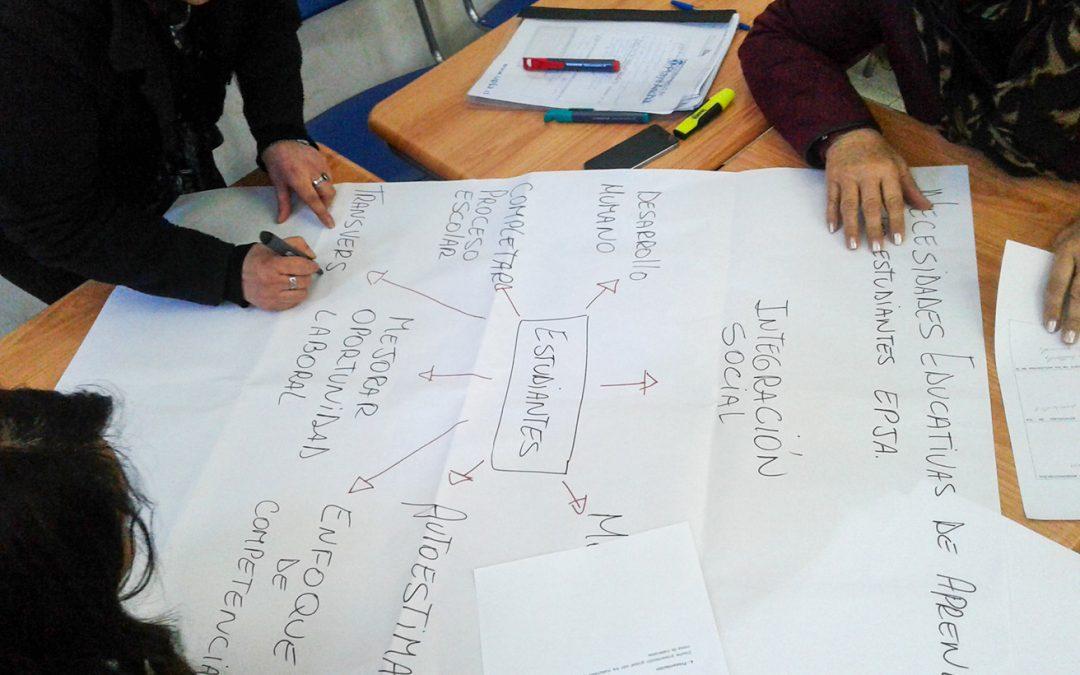 EPJA-UPLA imparte curso «Metodología para el Aprendizaje de Personas Jóvenes y Adultas» en Rancagua, Santa Cruz y Valparaíso